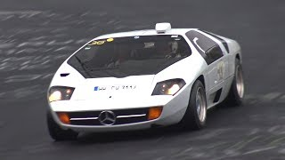 Download Ultra-Rare Mercedes Isdera Imperator 108i - LOUD AMG V8 SOUNDS! Video