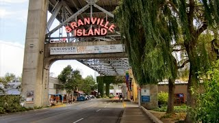 Download Granville Island Public Market - Vancouver BC Video