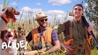 Download Brad Goes Pheasant Hunting | It's Alive | Bon Appétit Video