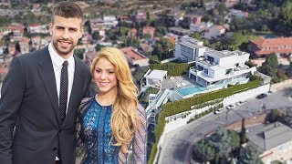 Download Gerard Pique & Shakira House in Barcelona (Interior & Exterior) Inside Tour | 2018 NEW Video