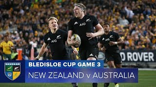 Download HIGHLIGHTS: 2018 Bledisloe Cup 3 - New Zealand v Australia Video