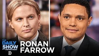 """Download Ronan Farrow - """"Catch and Kill"""" and Accountability for Harvey Weinstein   The Daily Show Video"""