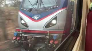 Download Train Race: Metro North vs. Amtrak Regional Video