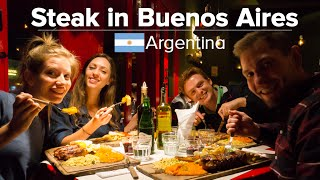Download The Best Steaks in Buenos Aires, Argentina (feat. Samuel & Audrey) Video