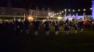 Download Pipe Band Plays St Andrew's Day Ceilidh in St Andrews Video