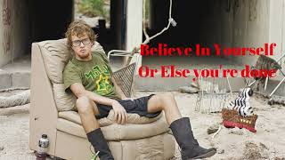 Download Believe in yourself or else you're done. Video