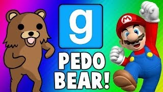 Download Gmod Escape PedoBear - Super Mario Tryout Frustration (Garry's Mod Funny Moments & Fails) Video