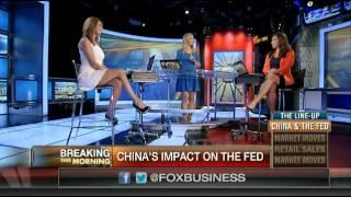 Download Nicole Petallides & Lauren Simonetti hot legs - FBN:AM - 08/13/15 Video