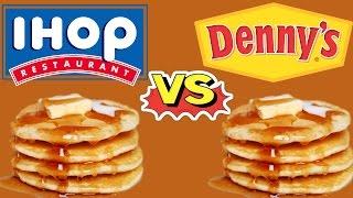 Download IHOP vs Denny's Pancakes Video