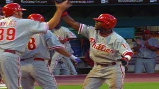 Download PHI@FLA: Rollins hits an inside-the-park home run Video
