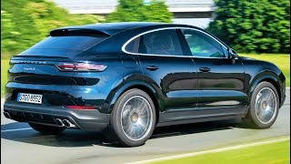 Download 2020 Blue Porsche Cayenne S Coupe - Performance SUV Video