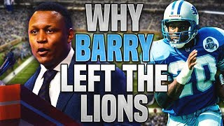 Download The REAL REASON Why Barry Sanders RETIRED Early Video