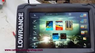 Download Lowrance Elite 7 Ti Touch TotalScan Video
