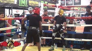 Download MAYWEATHER SPAR WARS!! WBC CHAMP WASEEM VS ROSCOE (Red Headgear) Video