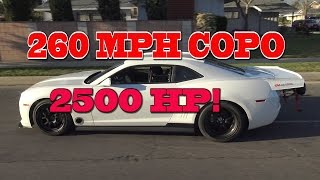Download 2500 HP COPO 260 MPH Texas Mile Contender. Nelson racing Engines. Video