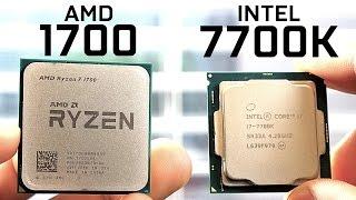 Download AMD 1700 vs Intel 7700K - CPU Comparison Video