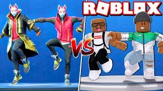 Download FORTNITE DANCE CHALLENGE IN ROBLOX Video