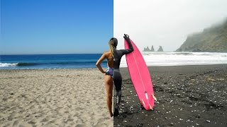 Download Can you surf in both California & Iceland within 24 hours? Video