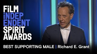 Download RICHARD E. GRANT wins Best Supporting Male at the 2019 Film Independent Spirit Awards Video