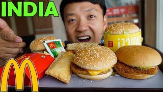 Download Trying McDonald's Breakfast & Lunch in INDIA Video
