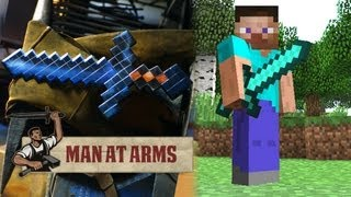 Download Diamond Sword (Minecraft) - MAN AT ARMS Video