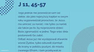 Download #Ewangelia   24 marca 2018   (J 11, 45-57) Video