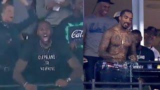 Download LeBron James & J.R. Smith Lose Their Damn Minds During World Series Video