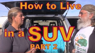 Download How to Live on $250 a month Part 2: Van Tour Video