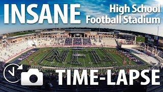 Download The Biggest High School Stadium in the World(Allen High School Eagle Stadium) - Time-lapse Video