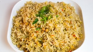 Download Chana Pilau (Chickpeas Pilau) by A Foodys Kitchen Video