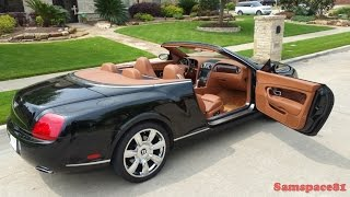 Download A Texan's 2008 Bentley Continental GTC Video