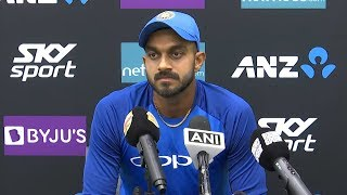 Download Learnt a lot just by watching teammates on Australia, NZ tours - Vijay Shankar Video
