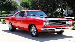 Download 1969 Plymouth Road Runner A12 M Code For Sale Video