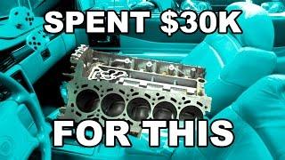 Download Spent $30,000 On A Bad Lamborghini Engine Video