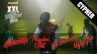 Download Playboi Carti, XXXTentacion, Ugly God and Madeintyo's 2017 XXL Freshman Cypher Video