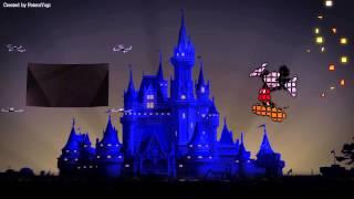 Download Drones entertain at Disneyland Video