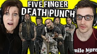 Download Mom REACTS to METAL   FIVE FINGER DEATH PUNCH: ″Wash It All Away″ Video