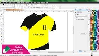Download Membuat Desain Kaos Sederhana dengan CorelDRAW   Belajar CorelDRAW Video