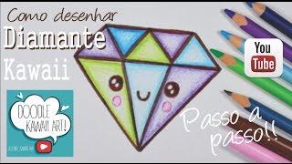 Download Como desenhar Diamante Kawaii passo a passo Video