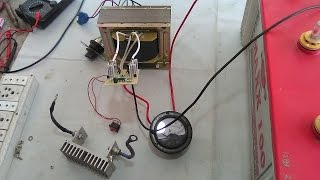 Download How To Make 12-0-12 Volt Transformer With Dual Function Battery Charger And Inverter. YT-49 Video
