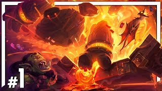Download Hearthstone: One Man Raid - BRM #1 - Blackrock Depths Normal & Class Challenges Video