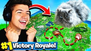 Download Using A CAT To WIN FORTNITE Battle Royale! Video
