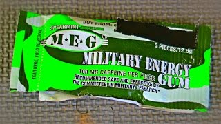 Download Military Energy Gum Taste Test Video