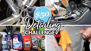 Download Car Detailing Using Only Store Bought Products For Under $50! Interior & Exterior Car Detailing Video