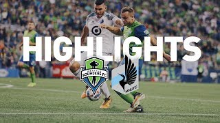 Download Highlights: Seattle Sounders FC vs Minnesota United | August 20, 2017 Video