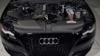 Download ECS Tuning: Audi B8 A4 Kohlefaser Luft-Technik Intake System Video