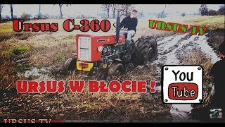Download Ursus C-360 w błocie😱🚜 / Ursus 912 Video