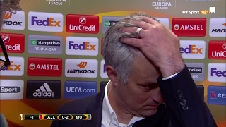 Download Classic Jose! Mourinho's full interview after Manchester United win the Europa League Video