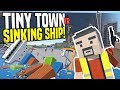 Download SINKING SHIP - Tiny Town VR Suggestions #4 | Zombie Apocalypse! (HTC Vive Gameplay) Video