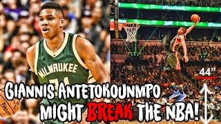 Download Why Giannis Antetokounmpo Might BREAK The NBA! Video